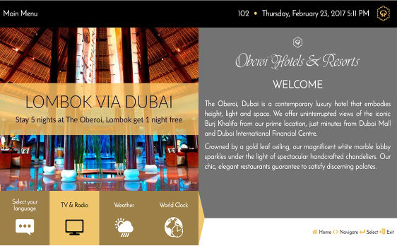 customise oberoi