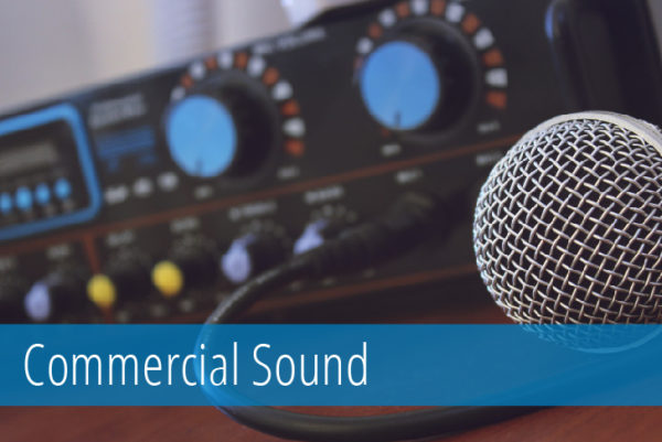 Commercial Sound Systems by Blueport